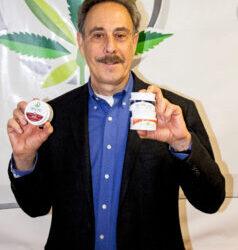 RI firm develops non-prescription pain relief product using marijuana extract