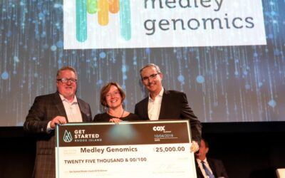 Medley Genomics wins Get Started RI pitch competition