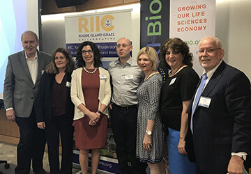 RI Bio and the RI-Israel Collaborative Work Together to Develop the State's Digital Healthcare Economy