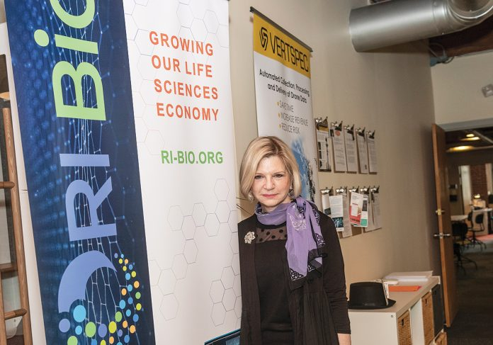 Carol Malysz, executive director of Providence-based biotechnology trade association - RI BIO