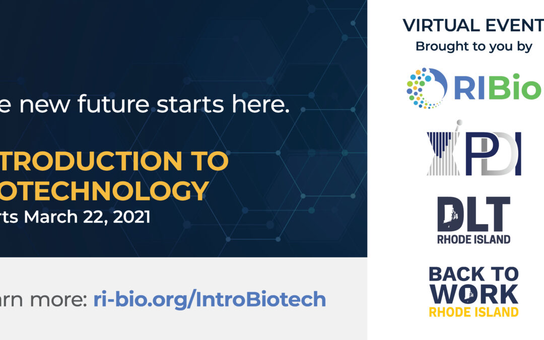 RI Bio Launches Innovative Workforce Training